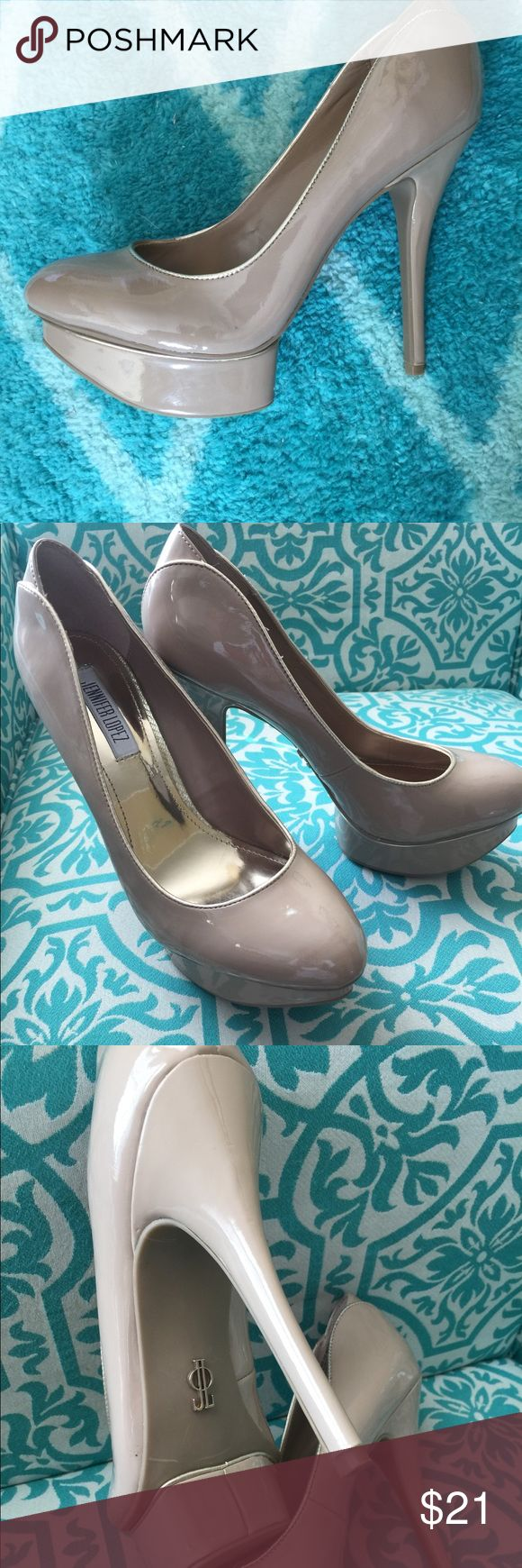 """👠JLo 5"""" Heel Pumps!👠 👠JLo 5"""" Heel Size 10M Taupe Colored Pumps!👠 No Scuffs or scratches. Like new condition! If shoes can be SEXY 🔥 then THESE ARE! Great with dresses or jeans! Whichever suits your style👠👗👖 🚫🚬Smoke Free Home! Open for offers! No Trade. Jennifer Lopez Shoes Heels"""