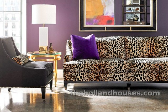 Animal Print Furniture Home Decor