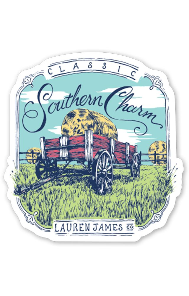 Lauren James Southern Charm Sticker