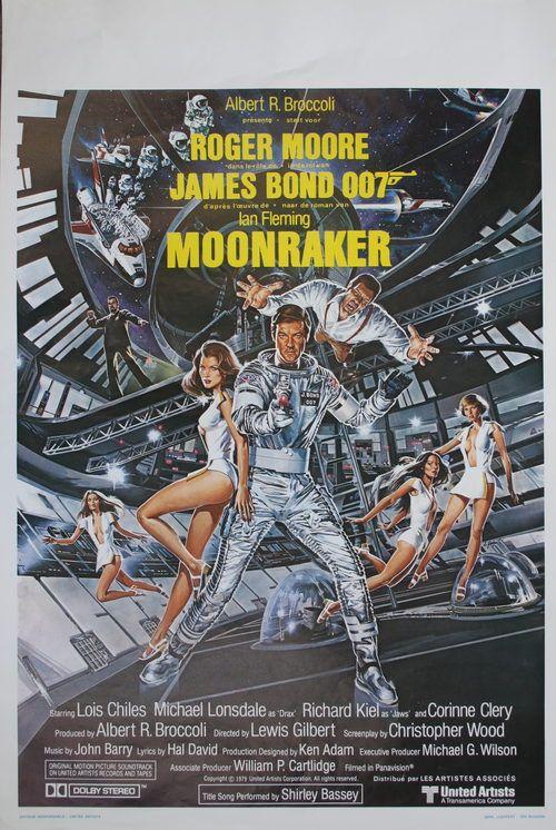 Antiques Atlas - James Bond Movie Poster - Moonraker
