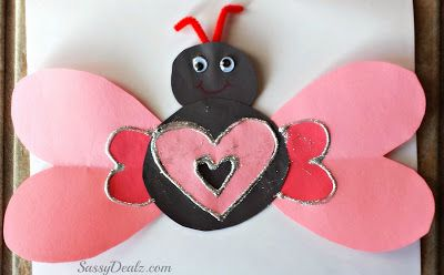 Bug w/heart wings