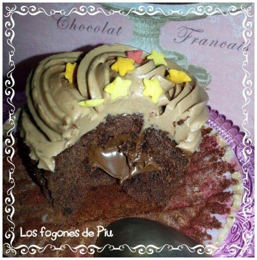 Cupcakes de Nutella 2