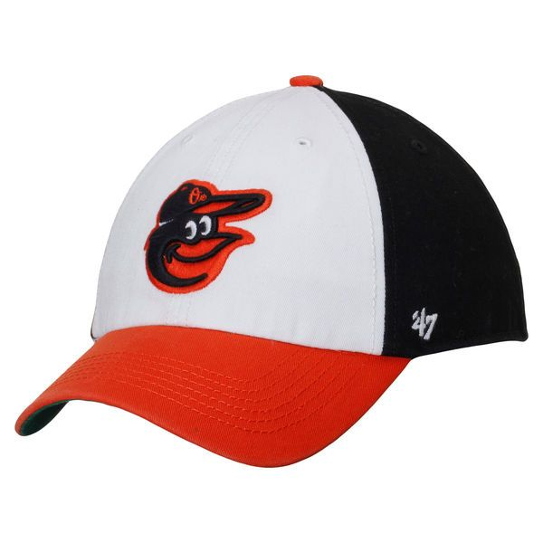 Baltimore Orioles '47 Freshman Franchise Fitted Hat - Black/White - - $18.99