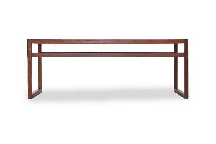 geometric contemporary teak coffee table http://www.furniture1950.com length: 45"