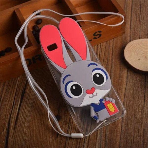 "For Fundas Huawei P8 Lite Case Cute 3D Cartoon Minnie Girl Silicone Case Back Cover Capas Para For Huawei Ascend P8 Lite 5.0"""