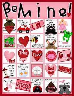 free valentine s day bingo game february classroom pinterest