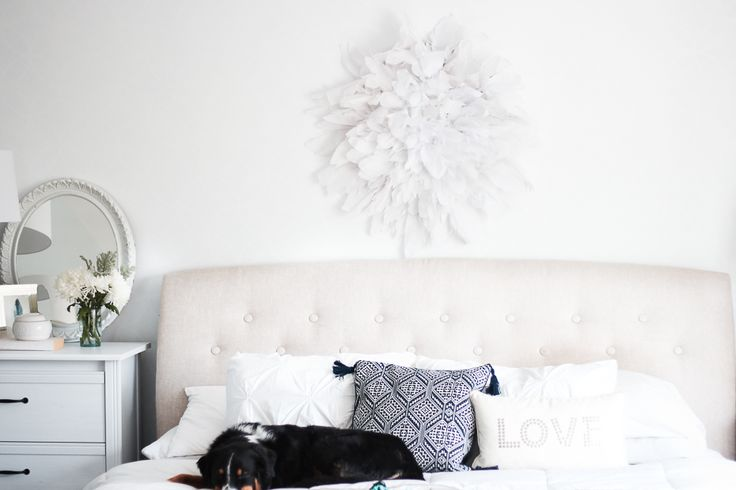 Craftberry Bush | New Bedding and Crepe Paper Juju Hat Tutorial | http://www.craftberrybush.com