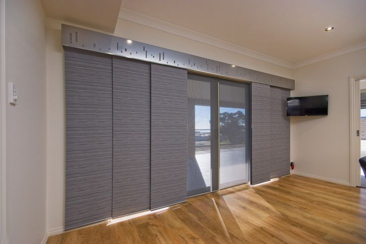 Panel Glide Blinds in Adelaide