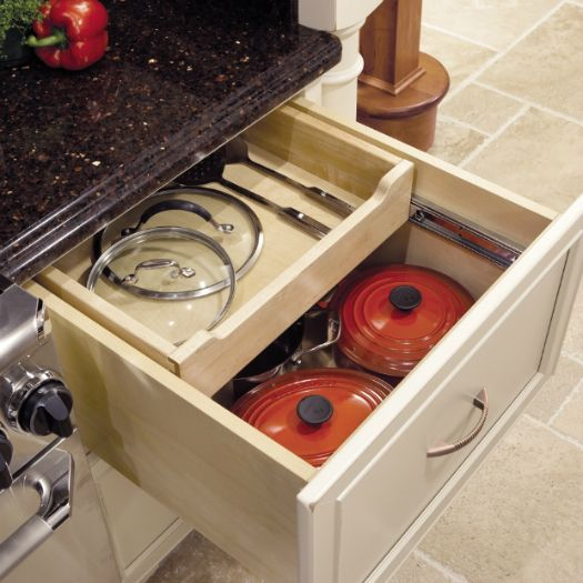Base Multi Storage Drawer Love The Slide Back Feature On Top Of This Kitchen
