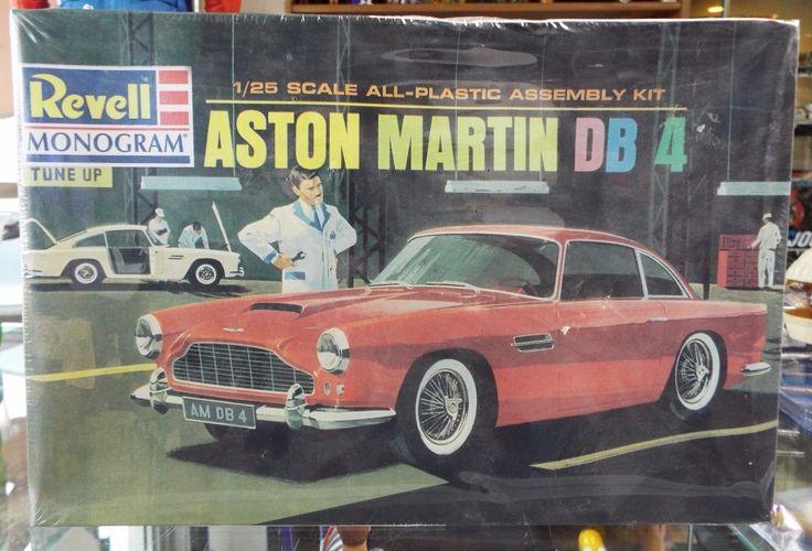 SEALED Revell Monogram Aston Martin DB-4 Model Kit # 562 1/25 | eBay