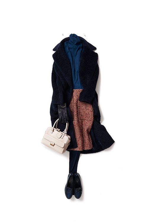 ヴィンテージ配色のスタイルが新鮮 2016-01-11