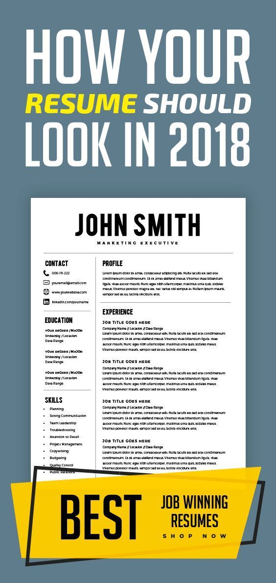 Resume Template - Resume Builder - CV Template + Cover Letter - MS
