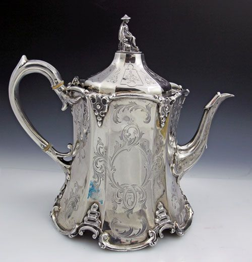 1026 Best Images About Silver Tea Sets Coffee Amp Tea
