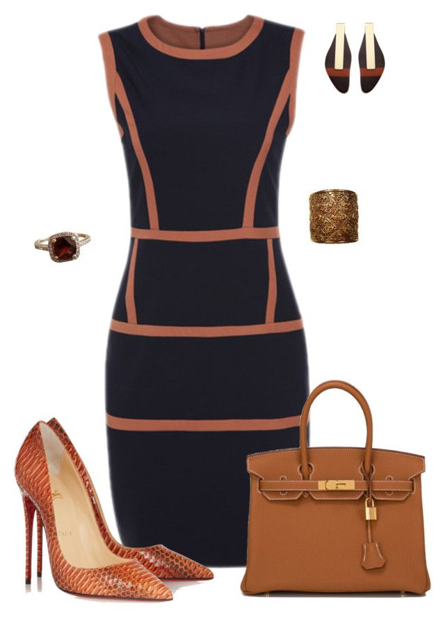 """""""Untitled #535"""" by angela-vitello on Polyvore featuring Christian Louboutin, Hermès, Marni and Chanel"""