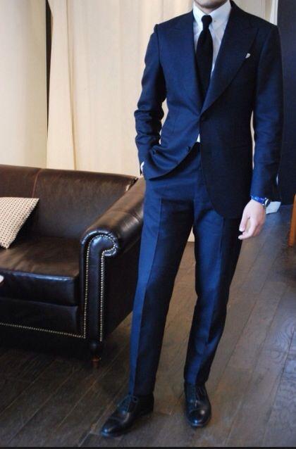 Dark Blue Wedding Tuxedo