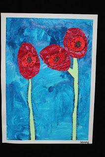 Miss Baker's Beaut Bunch: ANZAC day stories and art!