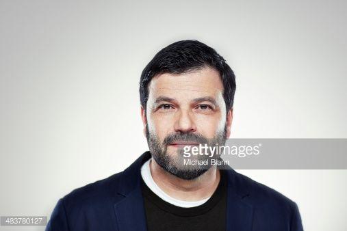 Stock Photo : Head and shoulders portrait
