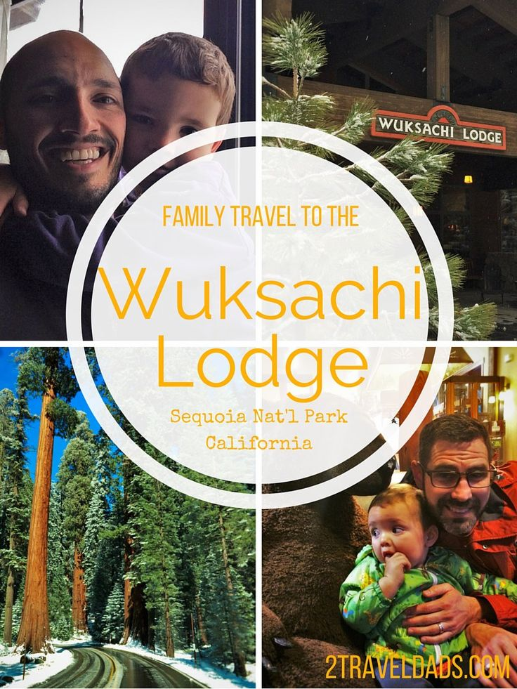 If you're doing family travel to Sequoia National Park the Wuksachi Lodge is a great option. See why! 2traveldads.com