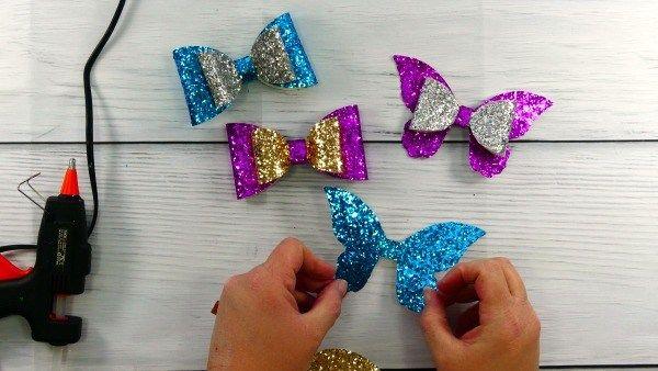 So machen Sie eine Haarschleife mit Ihrer Cricut – Free Bow SVG – Datei – Tägliche Dosis von DIY   – Cricut