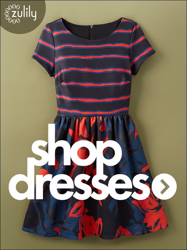 Sign up today to discover Stylish Dresses at prices up to 70% Off! Huge selection with new styles added each and every day! At zulily.com you'll find something special every day of the week!