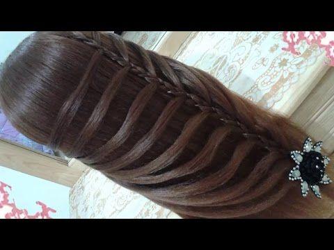 peinados recogidos faciles para cabello largo bonitos y rapidos con trenzas para niña para fiestas - YouTube
