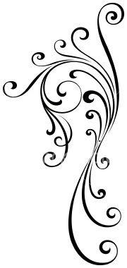 Flourish Design Royalty Free Stock Vector Art Illustration