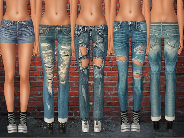 Jeans set 009 by ShakeProductions - Sims 3 Downloads CC Caboodle