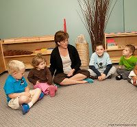 Montessori Circle Time Routines for the First Day: Welcome Songs