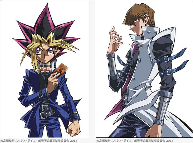 Yu-Gi-Oh Movie Character Images Released