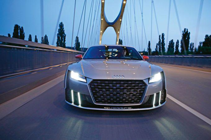 Audi TT Clubsport Turbo Concept im Fahrbericht: Bis die Polizei kommt