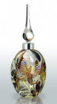 Okra Glass Perfume Bottle