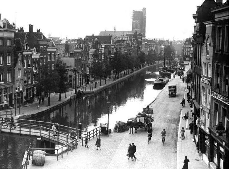 Delftsevaart Rotterdam (jaartal: 1930 tot 1940) - Foto's SERC