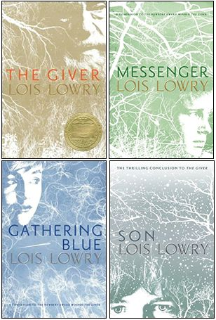 Who knew 'The Giver' was a quartet series?! I guess I need to put these on my reading list...