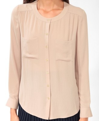 Double Pocket Button Up | FOREVER21 - 2025100711