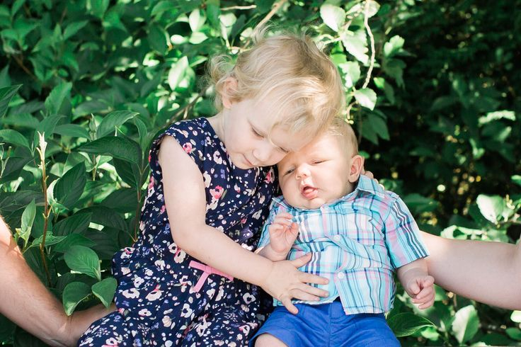 Osprey Village, Pitt Meadows. Family session by Michele Mateus Photography. These two siblings are so sweet together!
