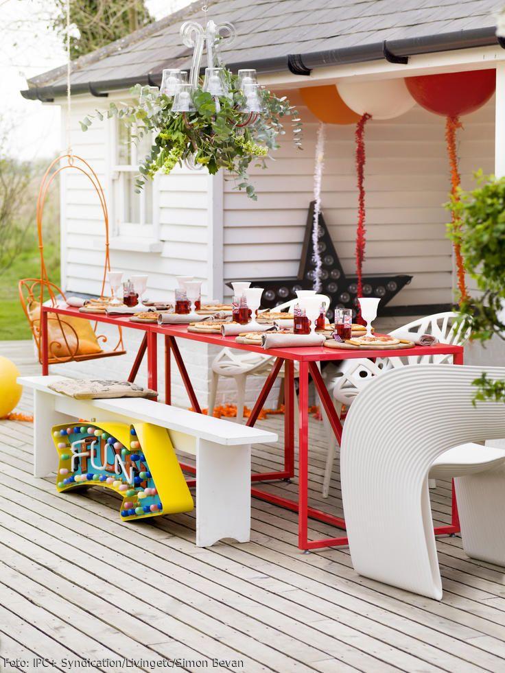 40 besten Party Bilder auf Pinterest | Gartenparty, Geburtstage und ...