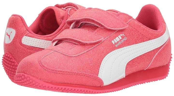 Puma Kids - Whirlwind Glitz V Girls Shoes