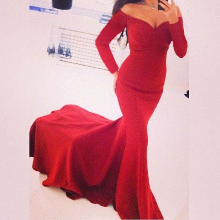 New Sexy Ladies s dlhým rukávom Prom ples Cocktail Party šaty Formálne večerné šaty-in Celebrity inšpirované šaty zo svadby a akcie na Aliexpress.com | Alibaba Group