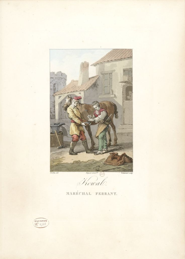 LAVIGUE: Collection de costumes polonais (1817)