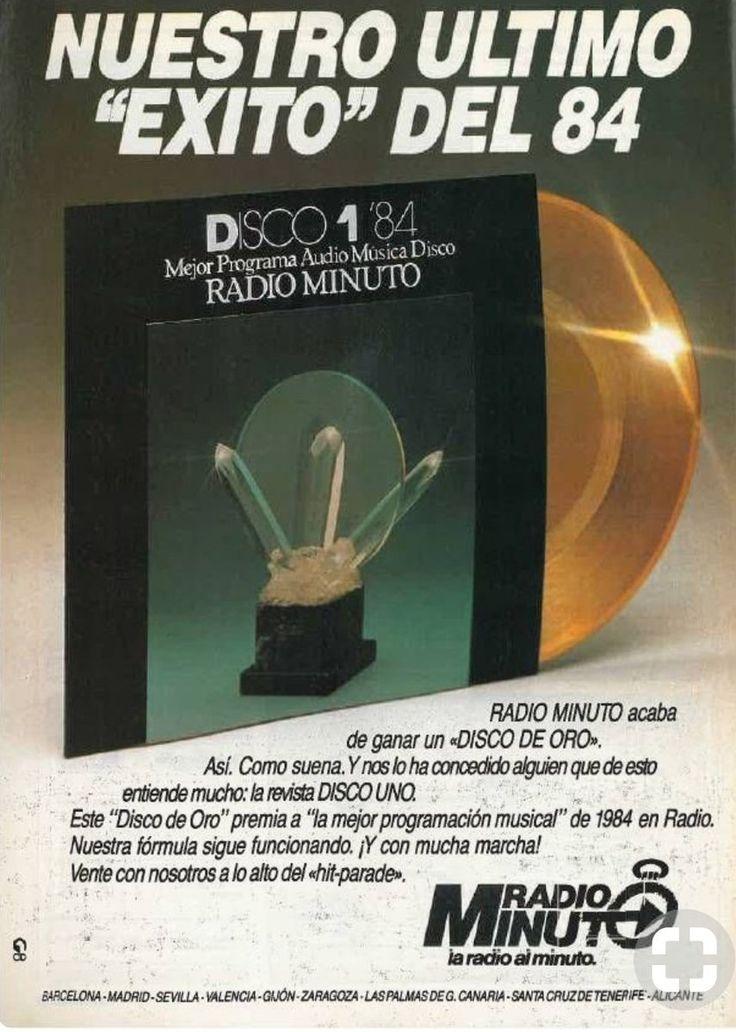@RADIOESCUCHANTE Anuncio promocional de Radio Minuto año 1984. Pionera en las emisoras de RadioFormula.