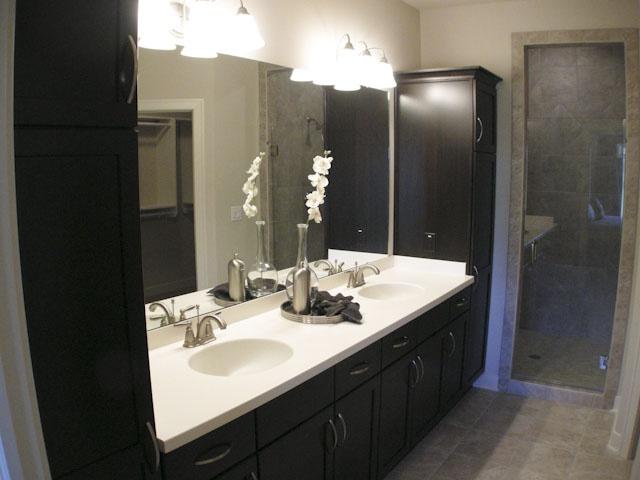 Model homes bathroom ideas