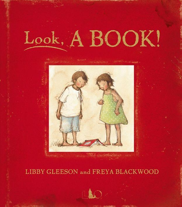 Freya Blackwood illustration | Look, A BOOK! - Libby Gleeson and Freya Blackwood - 9788889854891 ...