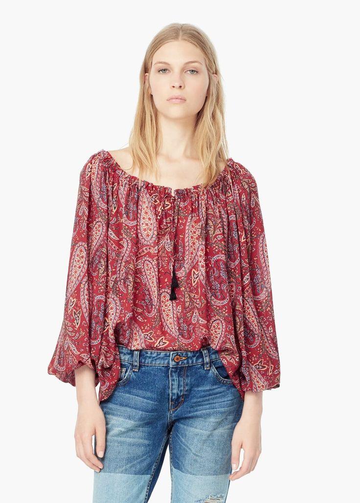 Bluson stampato paisley - Camicie da Donna   OUTLET Italia