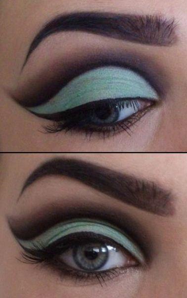 Cut Crease Eyes Make Up https://www.makeupbee.com/look.php?look_id=92243