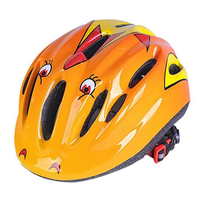 Ruiyif Kids Bike Helmet Cycling Riding Sports Helmet For Kids Yellow Review Skateboard Helmet Kids Bike Helmet Kids Bicycle
