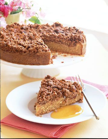 Toasted Coconut Coffee Cake. Great for a midmorning break or for Sunday brunch. #cakerecipes