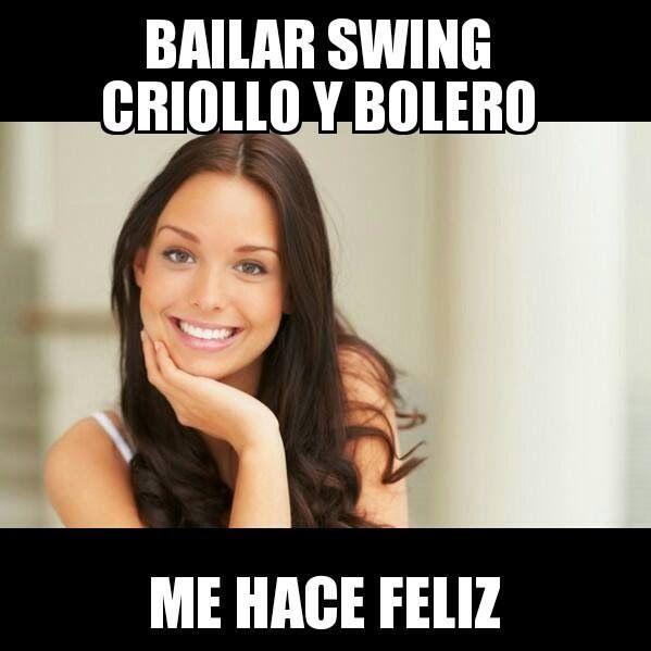 bailar swing criollo me hace feliz