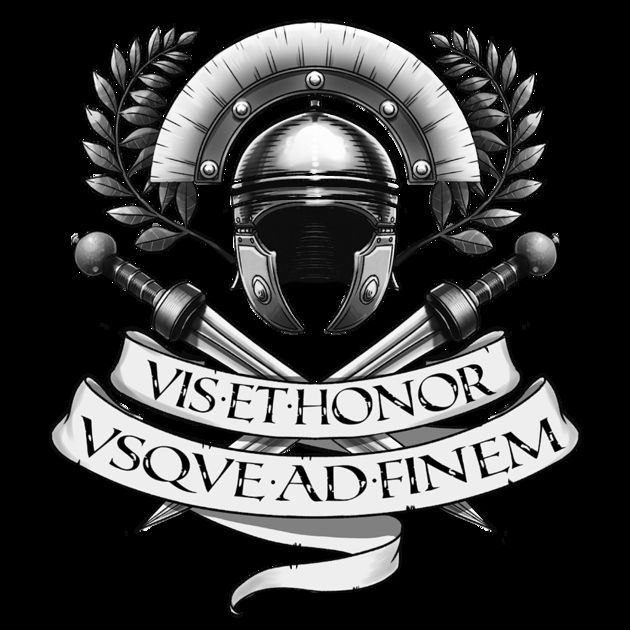 VIS ET HONOR - strength and honor VSQVE AD FINEM - all the way to the end