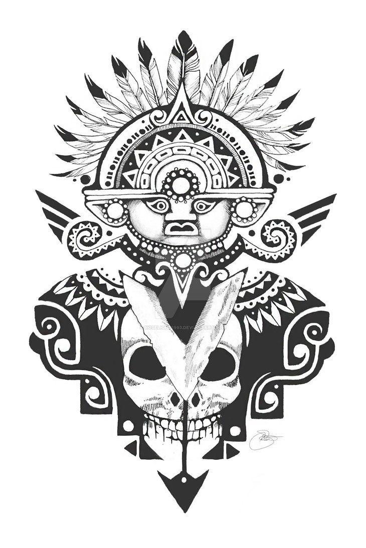 Inti Sun God - Tattoo Design - 2015 - Katherine S by on DeviantArt Mayan Tattoos, God Tattoos, Body Art Tattoos, Tatoos, Peru Tattoo, Inca Art, Azteca Tattoo, Aztec Tattoo Designs, Arte Alien