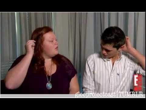 E Online Interview with Hannah Mcialwain and Damian Mcginty
